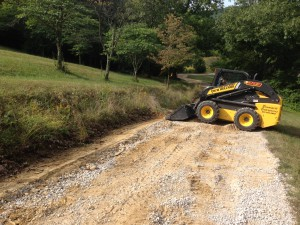 We perform all types of loader and grading work.